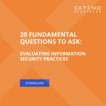 LP - 20 Questions Vendor Security (1)